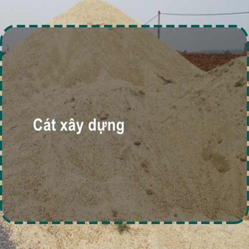 Giá cát xây dựng sản phẩm mới nhất