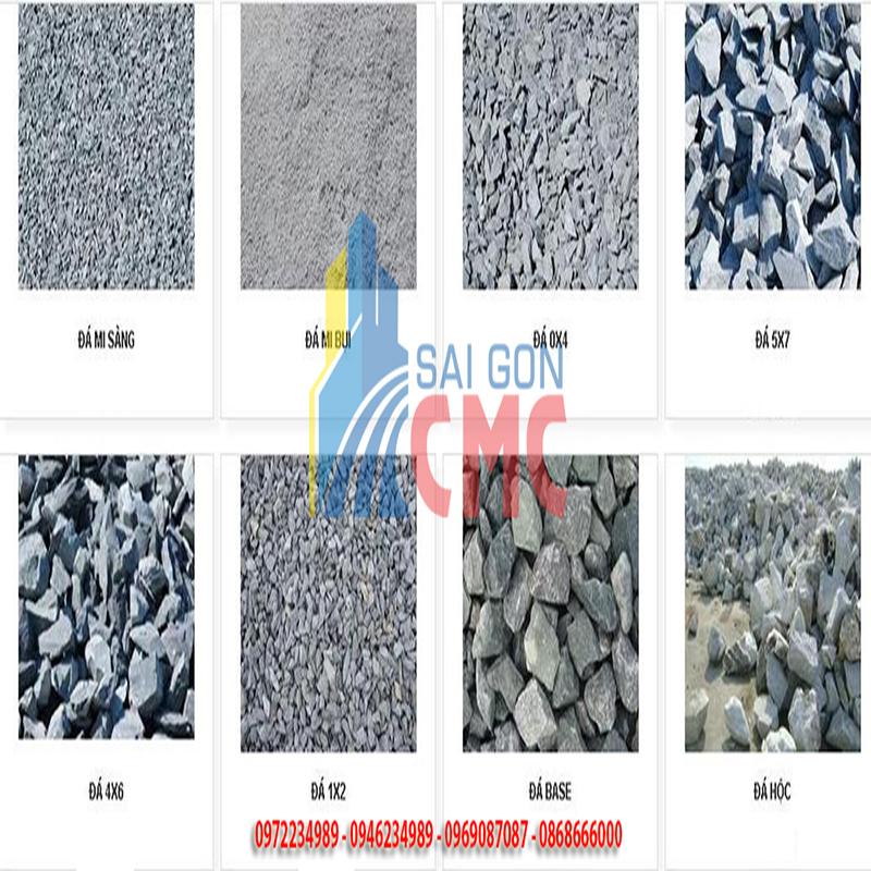 Giá đá xây dựng sản phẩm mới nhất