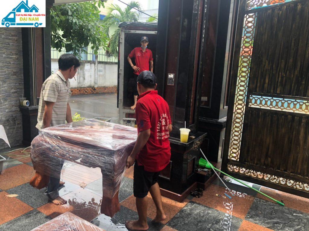 Dịch vụ chuyển nhà quận 2 trọn gói nhanh chóng giá rẻ