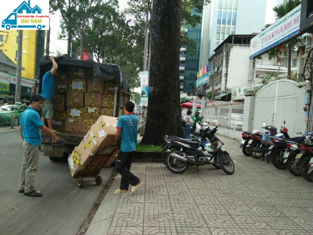 Dịch vụ chuyển nhà quận 4 trọn gói nhanh chóng giá rẻ