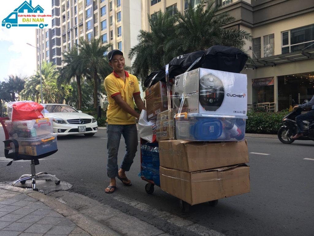 Dịch vụ chuyển nhà quận 8 trọn gói nhanh chóng giá rẻ