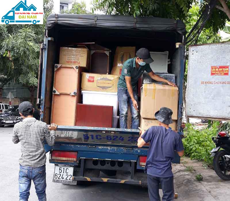 Dịch vụ chuyển nhà quận Gò Vấp trọn gói nhanh chóng giá rẻ