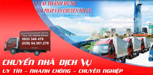 Top 10 dịch vụ taxi tải chuyển văn phòng uy tín nhất tại Tphcm