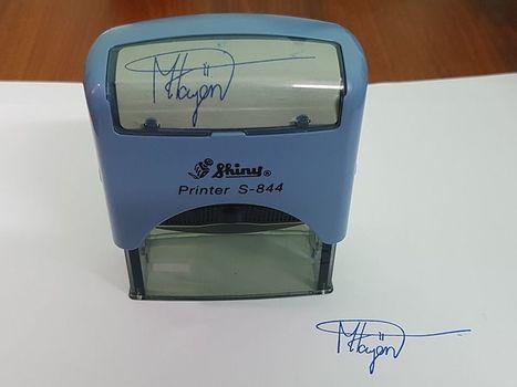 Dịch vụ khắc dấu chữ ký giá rẻ, uy tín tại TPHCM